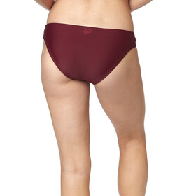 Fox Kingsport Lace Up Swim-Bottom Women charcoal/graphite/red